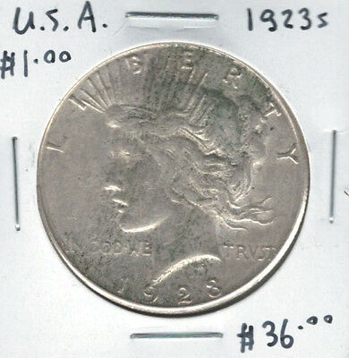 United States USA 1922s Silver Peace Dollar