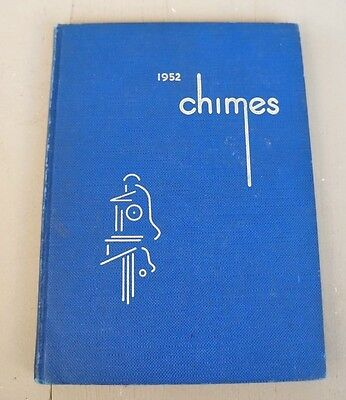 College Yearbook Berea College Berea Kentucky KY Chimes 1952-Student Industries