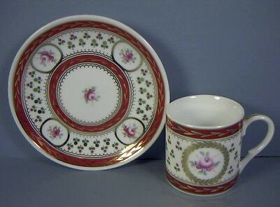 Demitasse Cups and Saucers, Marked Limoges