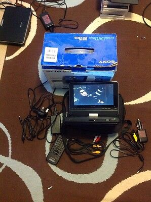 Sony DVP-FX810 Portable DVD player - Superb condition - Collect only CM2