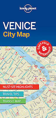 Lonely Planet Venice City Map by Lonely Planet