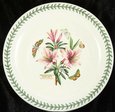 The Botanic Garden large bowl  Portmeirion 12.5 inches across  Rhododendrum