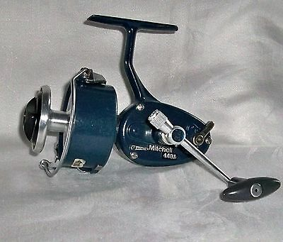 Garcia Mitchell 440A Blue Spinning Fishing Reel Made In France