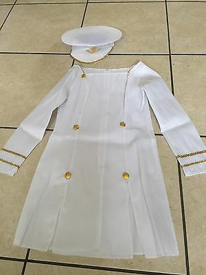 Ladies - Sailor Girl fancy dress outfit - Size: 8/10 - Brand New