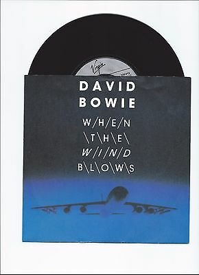 David Bowie When The Wind Blows Original Single From Germany With Picture Cover