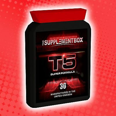 Very Strong Diet Slimming Pills Tablets Fast Weight Loss T5 Super Formula Brand