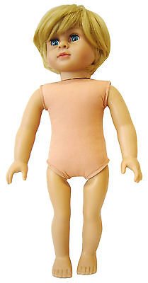 "18"" Blonde Boy Doll Cute! (Shorts not Included)"