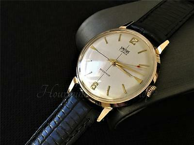 Great fully working men's vintage watch Smiths GB cal 602 7 jewels serviced 1964