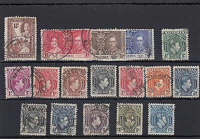 Nigeria. 17 -- G5/6 Used Stamps On Stockcard.
