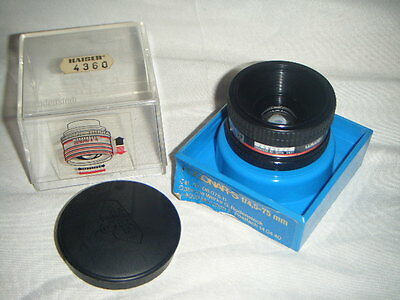 Lovely Clean German made Rodenstock ROGONAR 75mm f4.5 Enlarging Lens