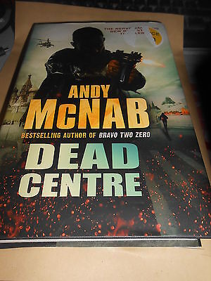 Dead Centre: (Nick Stone Book 14) by Andy McNab (Hardback, 2011)(EX COND)
