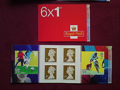 2012 London Olympic and Paralympic Games #4. Stamp Booklet 6x 1st class