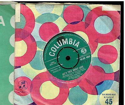 Helen Shapiro Let's Talk About Love 45 1962 From It's Trad Dad
