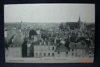 """1918 Censored Soldier's Mail Pst/Crd  AEF 307 F A """"Vannes France"""" to Delavan NY"""