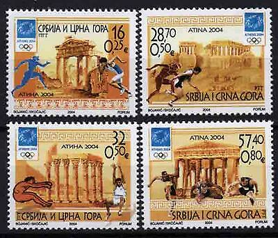 4559 Serbia and Montenegro 2004 Olympic Games Athens **MNH