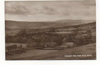 Campsie Glen, From Crow Road, Stirlingshire,RPPC