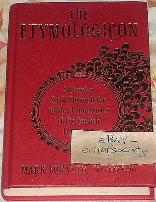 mark forsyth, the etymologicon, english language, hardback, 1 book, used