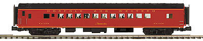 MTH 20-61019 Norfolk & Western 70' Streamlined Passenger Coach Car (Smooth Sided