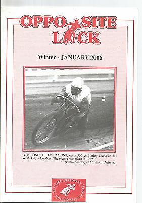 2006 W.s.r.a Opposite Lock Magazine Winter January Edition (Excellent Condition)