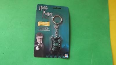 Harry Potter The Dark Arts Metal Etched Keychain New