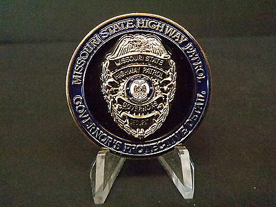Missouri State Highway Patrol (Moshp) Governors Protective Detail Challenge Coin