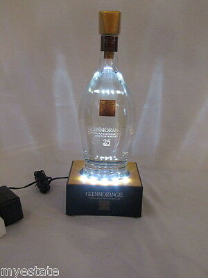 New GLENMORANGIE Single Malt Scotch Whisky Electric BOTTLE GLORIFIER Light