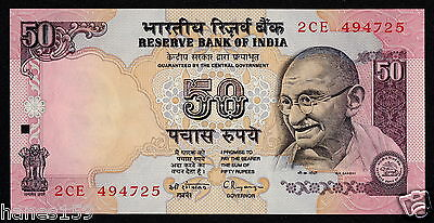 INDIA (P090a) 50 Rupees ND(1997) UNC