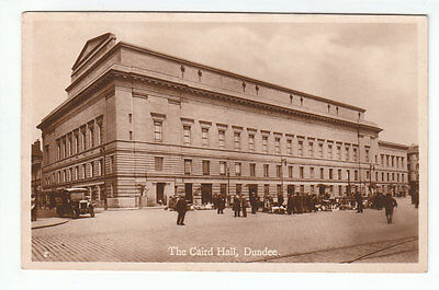 The Caird Hall Dundee Angus Early 1900's JB White No 2 Old Postcard Scotland