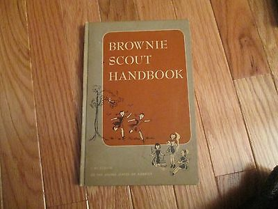 1951 Brownie Scout Handbook Girl Scouts HC Book