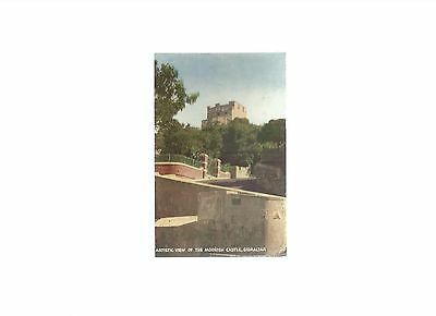 The Moorish Castle , Gibraltar - Artistic View - An unused card by G.F. Corso
