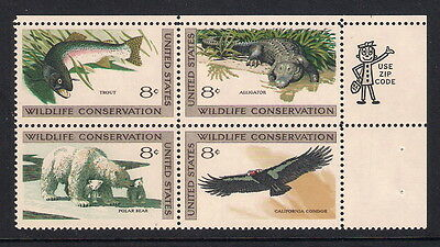 USA US mint stamps - 1971 Wildlife Conservation, SG1428/1431, MNH