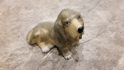 Basset Hound Ornament 2.5 Inch Height, 3 Inch Long Great Condition! Vintage