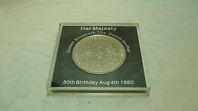 1980 Crown coin to commemorate the Queen Mother's 80th birthday