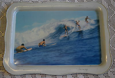 Vintage Collectable WILLOW SURF TRAY 60s Surfing Fairy Bower Beach WAVE Australi
