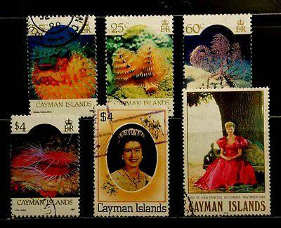 Cayman Islands: 1980-88 Stamp Collection Of Better