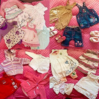 Girl 0-3 months Designer Bundle 25 items, Excellent condition, Some NEW!