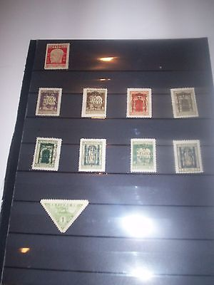 Great LOT of EARLY FIUME Stamps Removed from OLD Album FIUME15 Mint