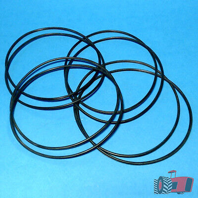 LOR2327 8x Liner O-ring Seal's Chamberlain 9G Tractor w Perkins L4 4-270D Engine
