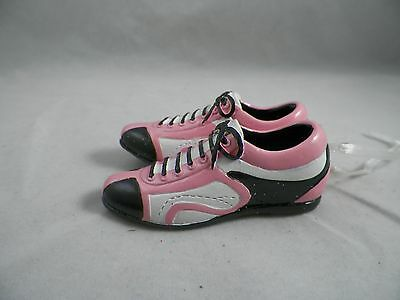 Pink, Black and White Sneakers Christmas Tree Ornament new holiday