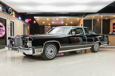 1978 Lincoln Continental  All Original Town Coupe! 3,932 Actual Miles, # Matching Drivetrain, Time Capsule