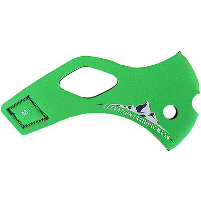 Elevation Training Mask 2.0 Solid Green Sleeve Only