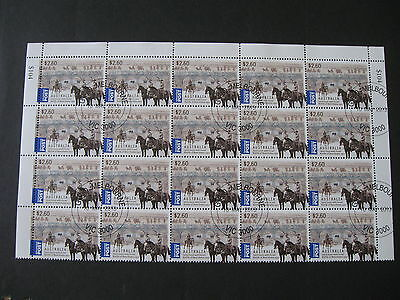 CTO HALF SHEET of 20 of $2.60  2013  AUSTRALIA & ISRAEL Joint Issue..