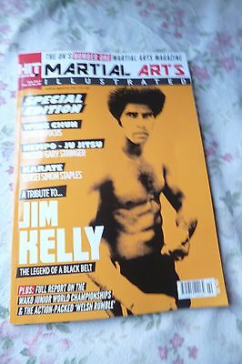 JIM KELLY SPECIAL New UK Mag MARTIAL ARTS ILLUSTRATED BRUCE LEE Enter The Dragon