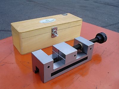 """63mm-2.5"""" QGG Screw Guide Precision Fully Ground Machine Toolmarker's Vise/Vice"""