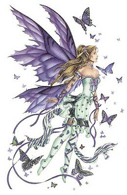 BLuE WinGeD FaiRieS ShaBby WaTerSLiDe DeCALs