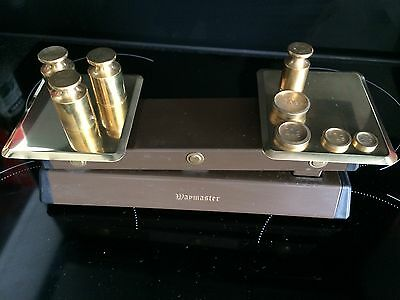 Brass Scales And Weights