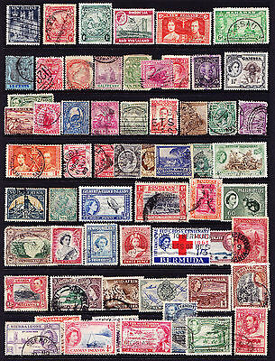 GB and Commonwealth Stamps from Old Album Early Items Inc. QV Mounted Mint &