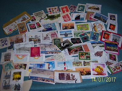 15g USED GERMAN STAMPS (2)