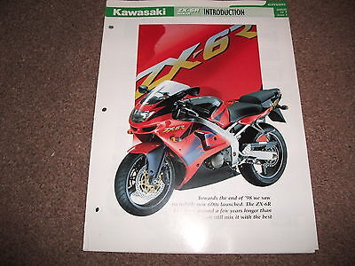 KAWASAKI ZX-6R NINJA the complete data/fact file from essential superbikes