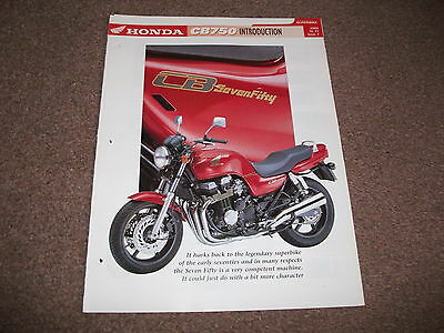 HONDA CB750 F2 the complete data/fact file from essential superbikes